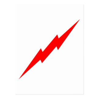Red Lightning Postcard