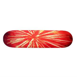 red lightning skateboard