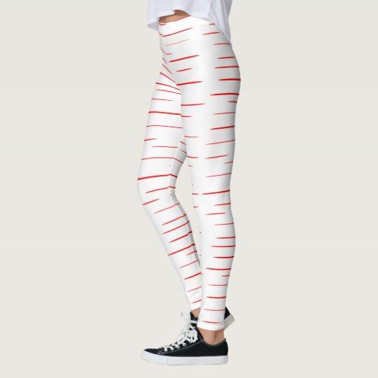 red line leggings