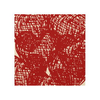 """""""Red lines"""" Wall Decor"""