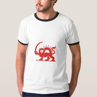 Red Lion with Sun, Iran T-Shirt