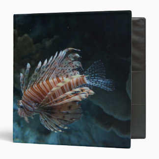 Red Lionfish Binder