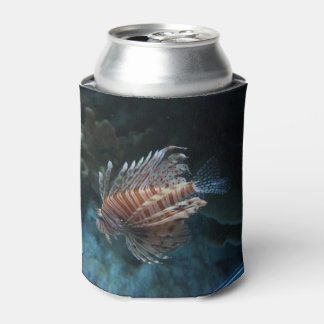 Red Lionfish Can Cooler