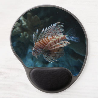 Red Lionfish Gel Mousepad