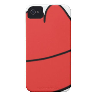 Red Lips iPhone 4 Cases