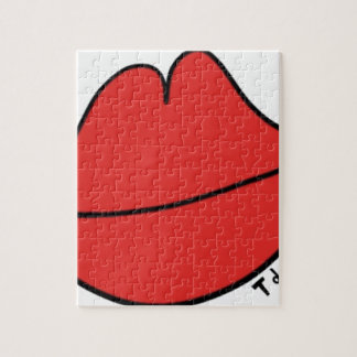 Red Lips Jigsaw Puzzle