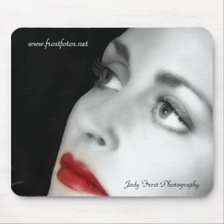 Red Lips Mouse Pad
