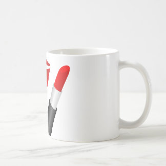 Red Lips MUA 11 oz Classic White Mug