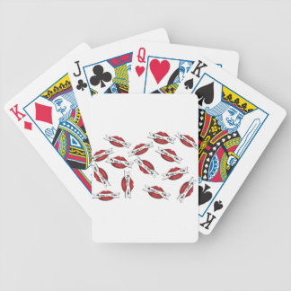 "Red Lips ""My Name Is #NO"" Poker Deck"