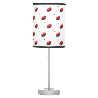 Red Lips Pattern Table Lamp