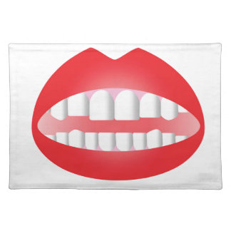 Red Lips Placemat