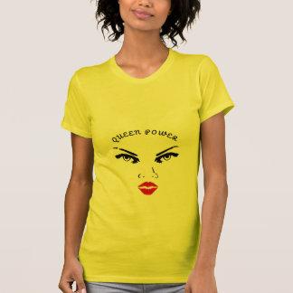 Red Lips Queen Power T-Shirt