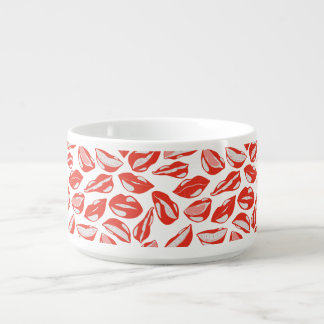 Red Lips ready to kiss Bowl