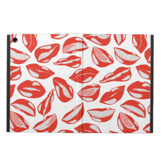 Red Lips ready to kiss Case For iPad Air