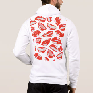 Red Lips ready to kiss Hoodie