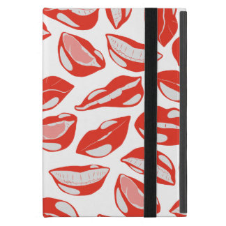 Red Lips ready to kiss iPad Mini Covers
