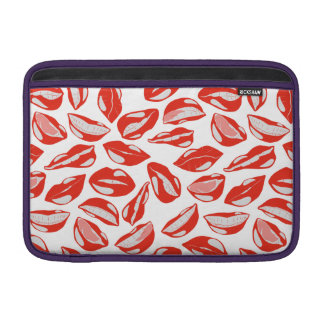 Red Lips ready to kiss MacBook Air Sleeves