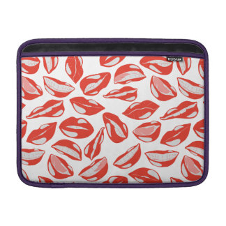 Red Lips ready to kiss MacBook Sleeve