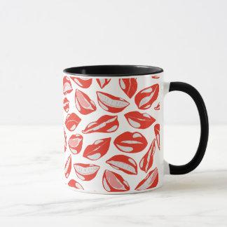 Red Lips ready to kiss Mug