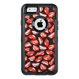 Red Lips ready to kiss OtterBox iPhone 6/6s Case