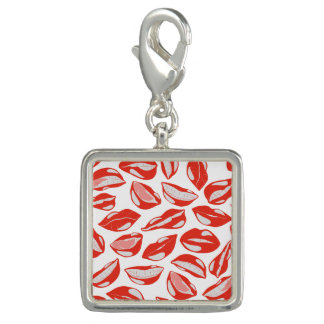 Red Lips ready to kiss Photo Charms