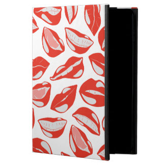 Red Lips ready to kiss Powis iPad Air 2 Case