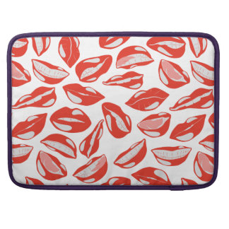 Red Lips ready to kiss Sleeve For MacBook Pro