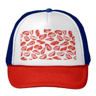 Red Lips ready to kiss Trucker Hat