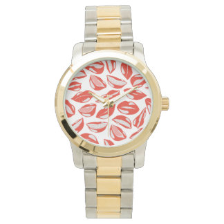 Red Lips ready to kiss Watches