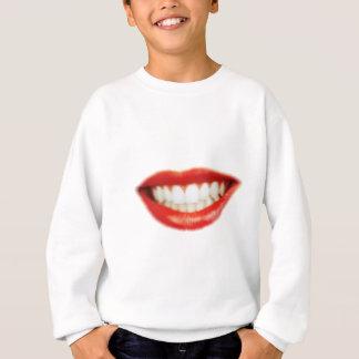 Red lips sweatshirt