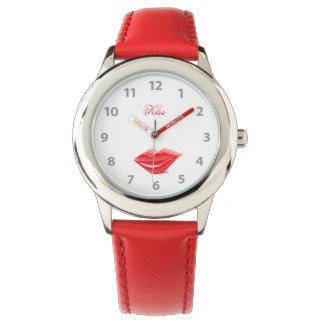 Red Lips Wristwatch