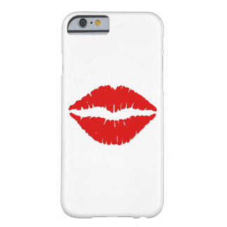 Red Lipstick Barely There iPhone 6 Case