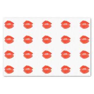 Red Lipstick Kiss 4Karl Tissue Paper