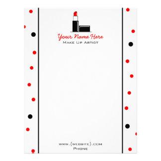 Red Lipstick Letterhead