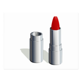 Red Lipstick Postcard