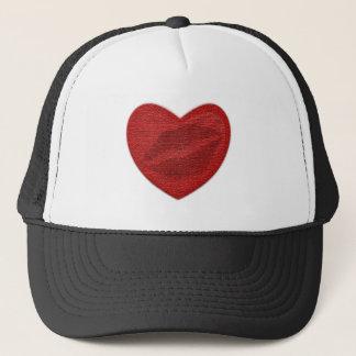 Red Lipstick Trucker Hat