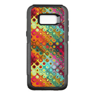 Red Liquid Rainbow Dots OtterBox Commuter Samsung Galaxy S8+ Case