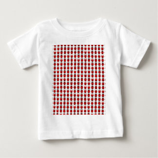 Red Little Ladybugs Baby T-Shirt