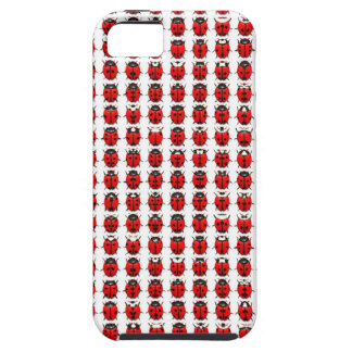 Red Little Ladybugs Case For The iPhone 5