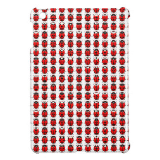Red Little Ladybugs iPad Mini Case