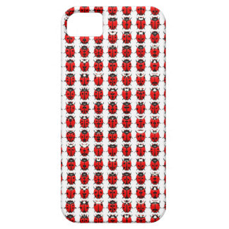 Red Little Ladybugs iPhone 5 Case