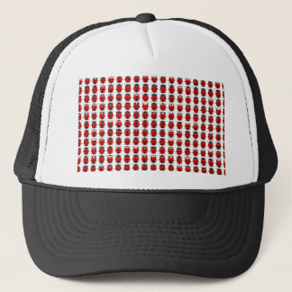 Red Little Ladybugs Trucker Hat