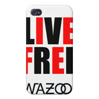 Red Live Free iPhone Case iPhone 4 Cover
