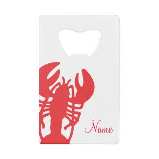 Red Lobster Credit Card Bottle Opener