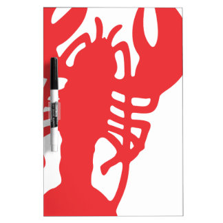 Red Lobster Dry Erase White Board