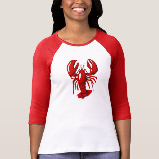 Red Lobster Ladies Raglan T-shirt