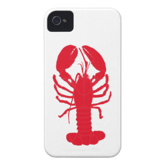 Red Lobster Tales Case-Mate iPhone 4 Cases