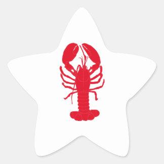 Red Lobster Tales Star Sticker