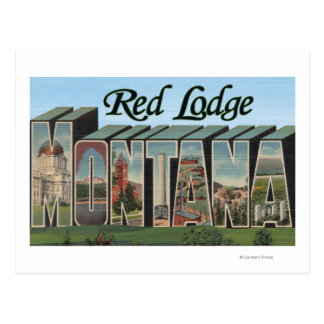 Red Lodge, Montana Postcard