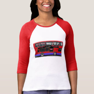 Red London Bus Double Decker Shirts